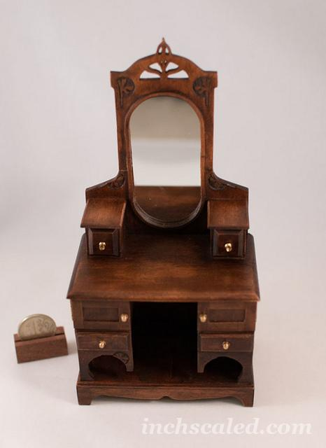 Art Nouveau Dresser