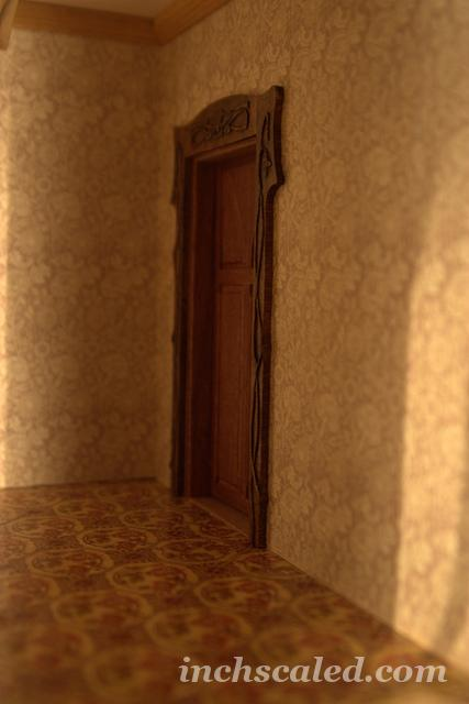 Door for a hall