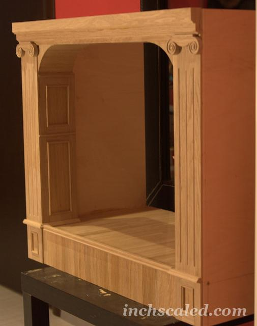 Commission - theatre stage (model for short film)