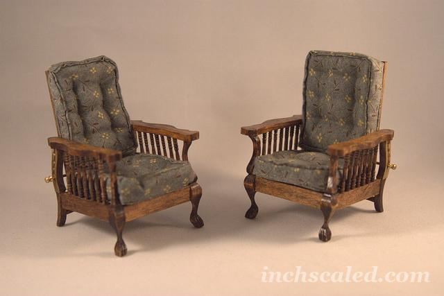 Morris chairs - all done:)