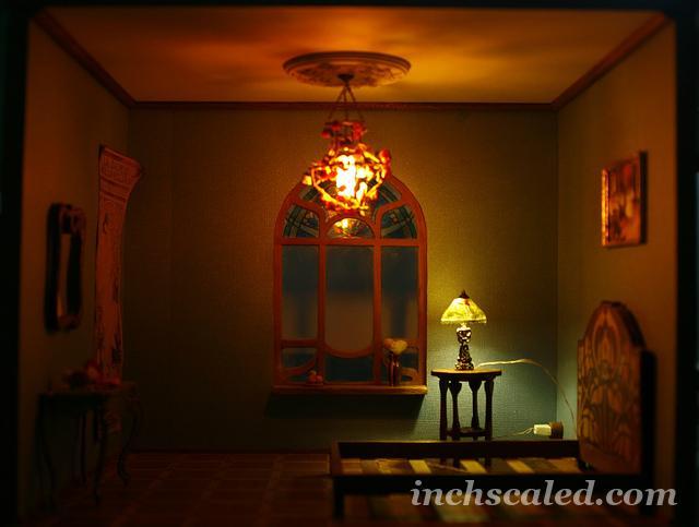 making lighting for roombox